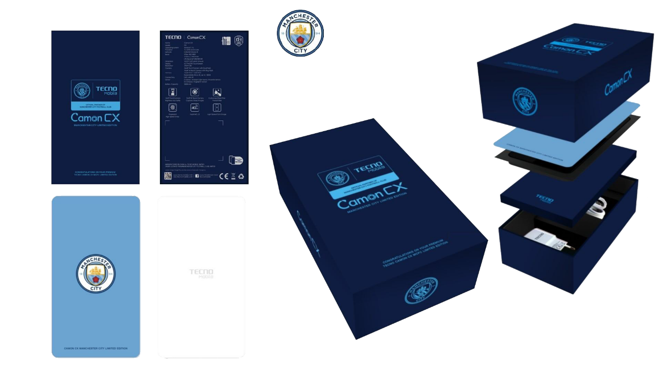 Tecno Camon Manchester City