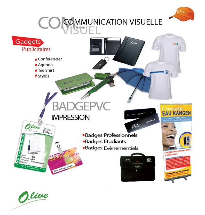 Communication visuelle - Olive