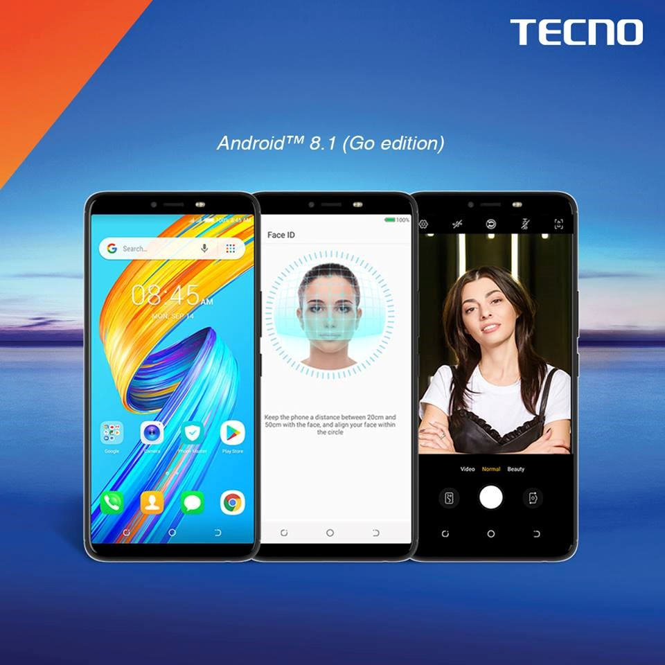 Tecno Spark 2 Android 8.1