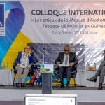 Colloque international de la HACA (Haute Autorité de de la Communication Audiovisuelle, les 3 et 4 octobre 2018 à Abidjan